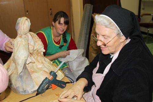 Sister Samuela - Christmas workshop in StubičkeToplice