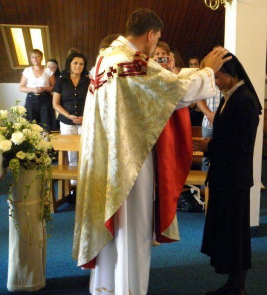 Prvi zavjeti s. Marije Prvi zavjeti s. Marije
