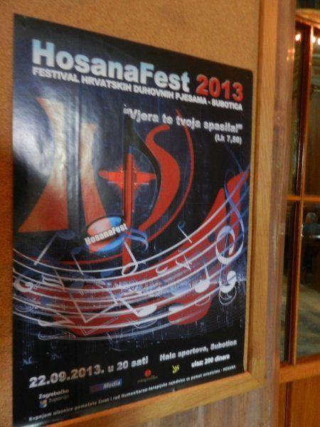 Hosanafest 2013.